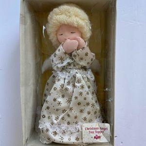 Russ vintage Christmas Angel tree topper